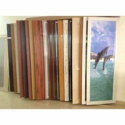 Interior Laminated PVC Hinged Door