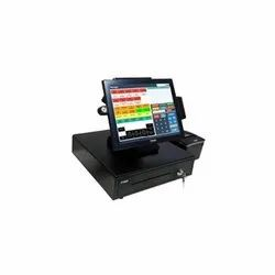 POS-1000 Fanless Full Flat Touch Screen POS Terminal