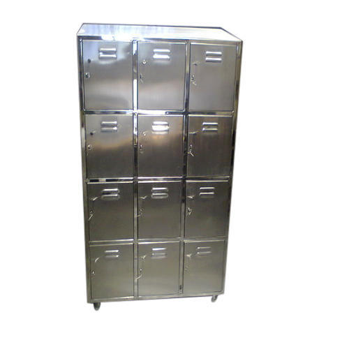 12 Compartment SS Locker