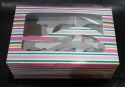 6pc Cup Cake Box