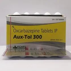 Oxcarbamazepine 300 Mg Tablets  (Auxtol 300)