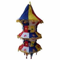 Cloth Tower Lamp