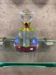 Glass Wood Fancy Attar Bottel