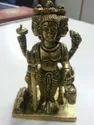 Brass Dattatraya Murti Idol Statue