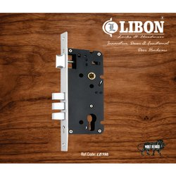 Deadbolt Main Door Mortise Locks LB198, Size/Dimension: 50 Mm