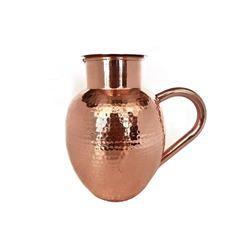 Copper Hammered Mutki Jug