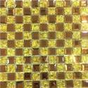 Prime Yellow And Brown Wall Glass Mosaic Tile