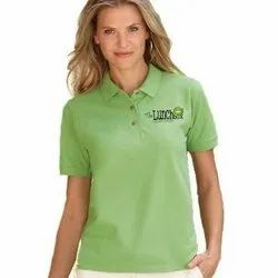 Casual Wear Cotton Womens Corporate T-Shirts