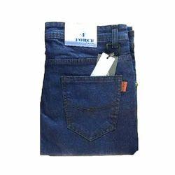 Men Blue Plain Denim Jeans, Waist Size: 30