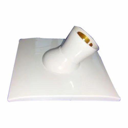 Krishna Polymers White Angle Lamp Holder