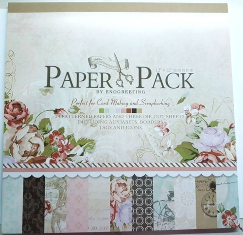 Oasis Paper Pack Perfect For Cardmaking & Scrapbooking