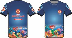 Sports Blue T-Shirt