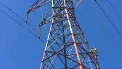 Thermal Spray Zinc Coating on Electricity Transmission Tower