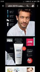 Mens Cream And Face Wash