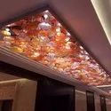Banquet Hall Glass Chandeliers