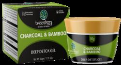 Charcoal Bamboo Deep-Detox Gel