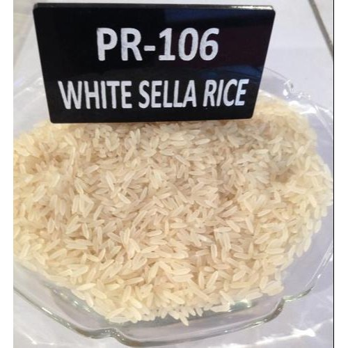 10-25 Kg Pr-106 White Sella Non Basmati Rice, Packaging Type Available: Jute Bag
