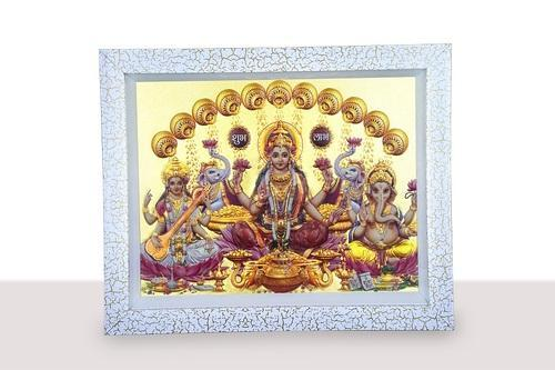 Silver Gold Embossed Religious Frames Rs 550 Piece Brijbasi