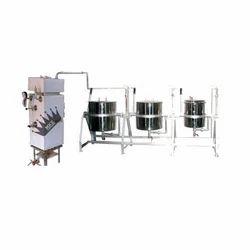 Three Vessel Steam Cooking System