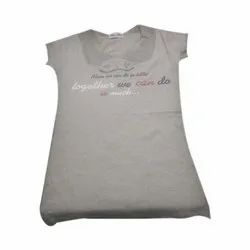 Round Neck Ladies T-Shirt