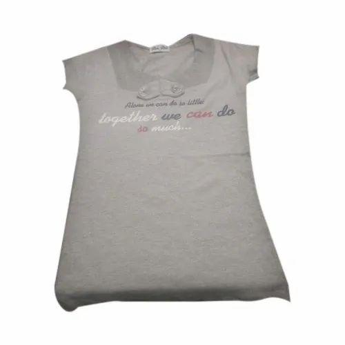 Round Neck Ladies T-Shirt