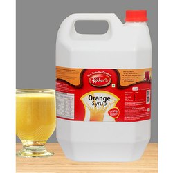 Orange Syrup - 5 Ltrs