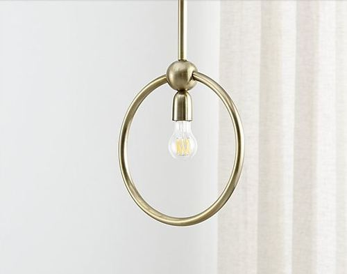 Warm White Iron Pendant Ceiling Lamp