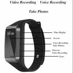 Safetynet K18 1080p Spy Camera HD Wearable Bracelet Camcorder Video Recorder Back