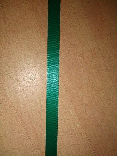 Green Embossed PET Straps, Packaging Type: Roll