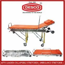 DESCO Aluminium Auto-Loader Ambulance Stretcher