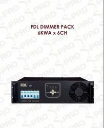 S Pro FDL Dimmer Pack 6KWA X 6CH