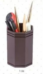 Brown Or Black Pen Stand Wooden No-150