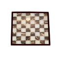 Chess Checkers Board Marble Inlay