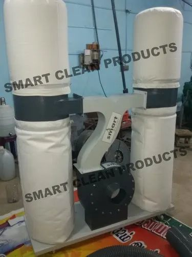 Double Bag Wood Dust Collector