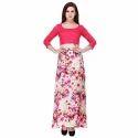 Cottinfab Women's A-Line Maxi Dress