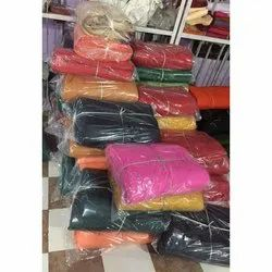 Plain 35-36-45-46 Inch Synthetic Raymond Dyed Fabric, 110 Gsm, Packaging Type: Lump, Cut Pack
