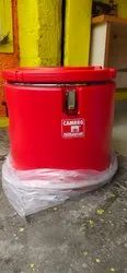 Nilkamal Cambro Round SS Insulated Container 49 Ltr
