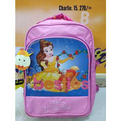 High Rise Printed Girls College Bag, Usage/Application: School