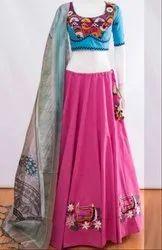 Rani Pink Navratri Special Chaniya Choli