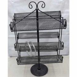 Iron Black Bangle Display Stand Revolving