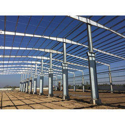 Stainless Steel PEB Structural Shed