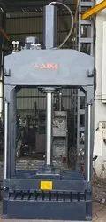 80 Ton Hydraulic Wovensack Bags Bale Press Machine