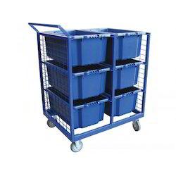 Plastic Bin Trolley