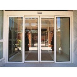 Customized Automatic Aluminium Frame Glass Door, Rs 65000 /piece | ID:  15337553748