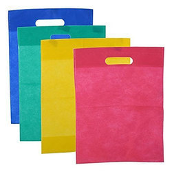D Cut Plain PP Bag
