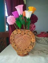 Nothing Brown News paper flower vase
