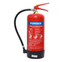 Red ABC Powder Fire Extinguisher, Capacity: 6 Kg