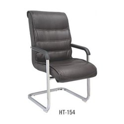 S Type Black Visitor Chair