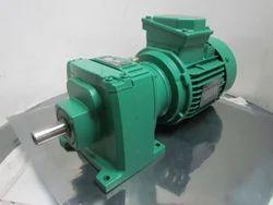 Foot Mount Electric Gear Motor, Power: <10 kW