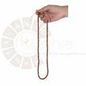Brown Ur Astro 100% Original Rudraksha Mala, Shape: Round, Packaging Type: Bubble Wrap